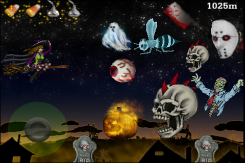 Screenshot All Hallow's Eve: Witch's Ride Free