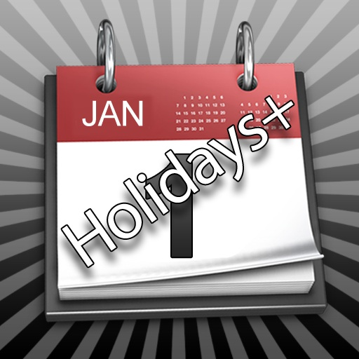 Holidays+ (was sdHolidays) app icon